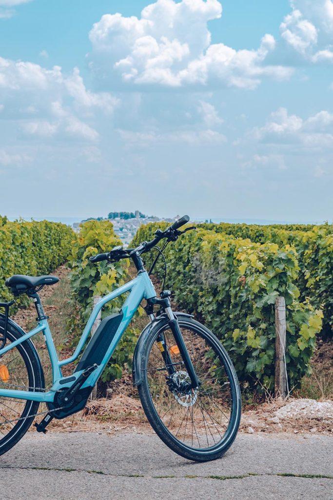 Refuse to hibernate Sancerre la Loire à vélo Audrey électrique focus