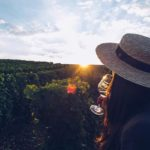 Refuse to hibernate Sancerre sunset and wine Audrey