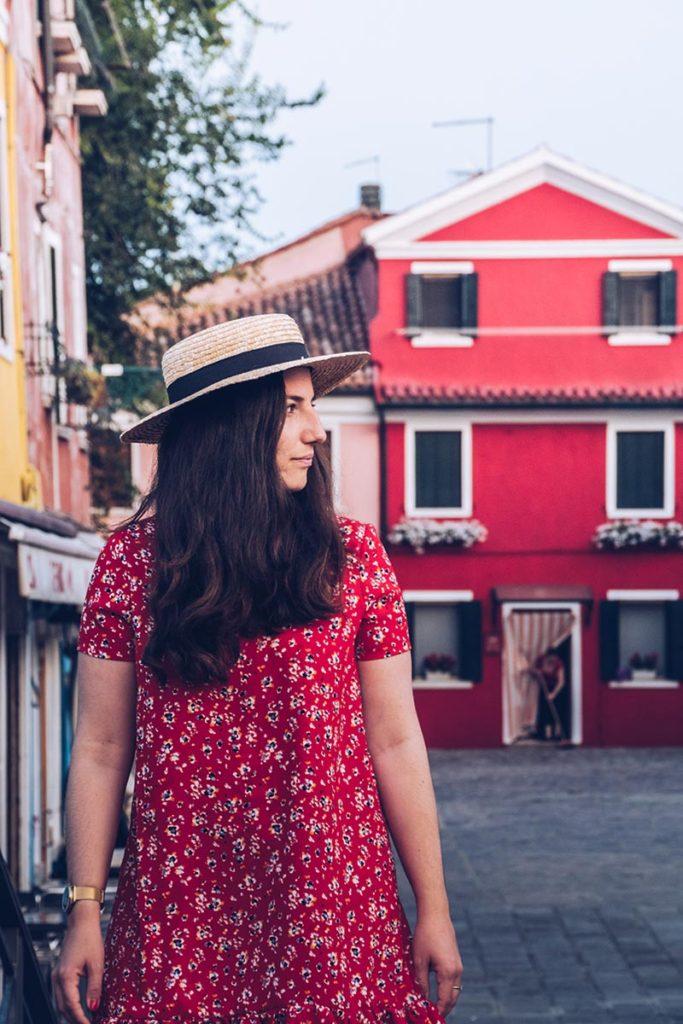 Refuse to hibernate Venise Burano Audrey et la maison rouge