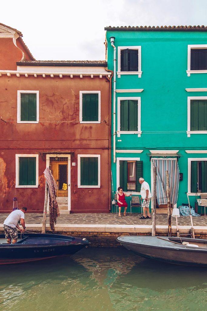 Refuse to hibernate Venise Burano instant de vie
