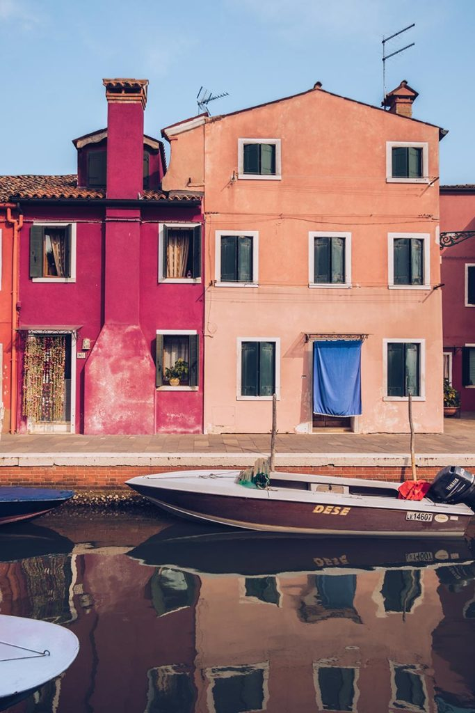 Refuse to hibernate Venise Burano reflet
