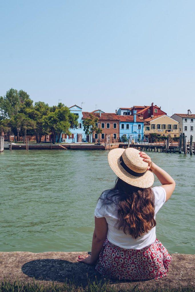 Refuse to hibernate Venise Burano vu de Mazzorbo Audrey