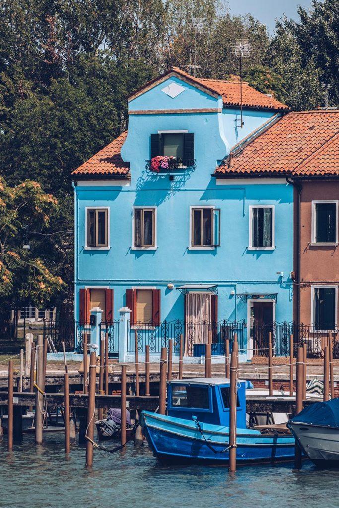 Refuse to hibernate Venise Burano vu de Mazzorbo focus