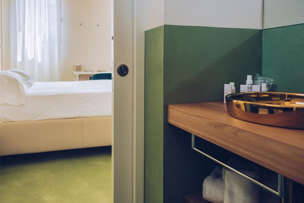 Refuse to hibernate Venise Casa Burano salle de bain