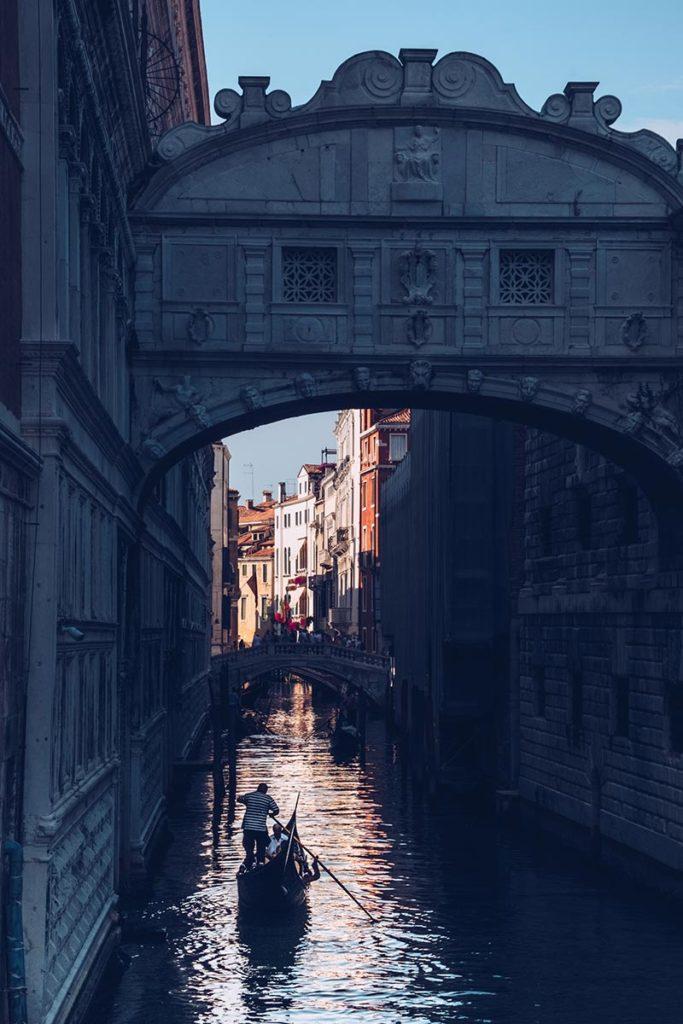 Refuse to hibernate Venise pont des Soupirs
