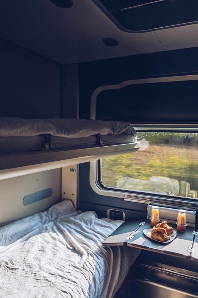 Refuse to hibernate Venise Thello cabine couchette