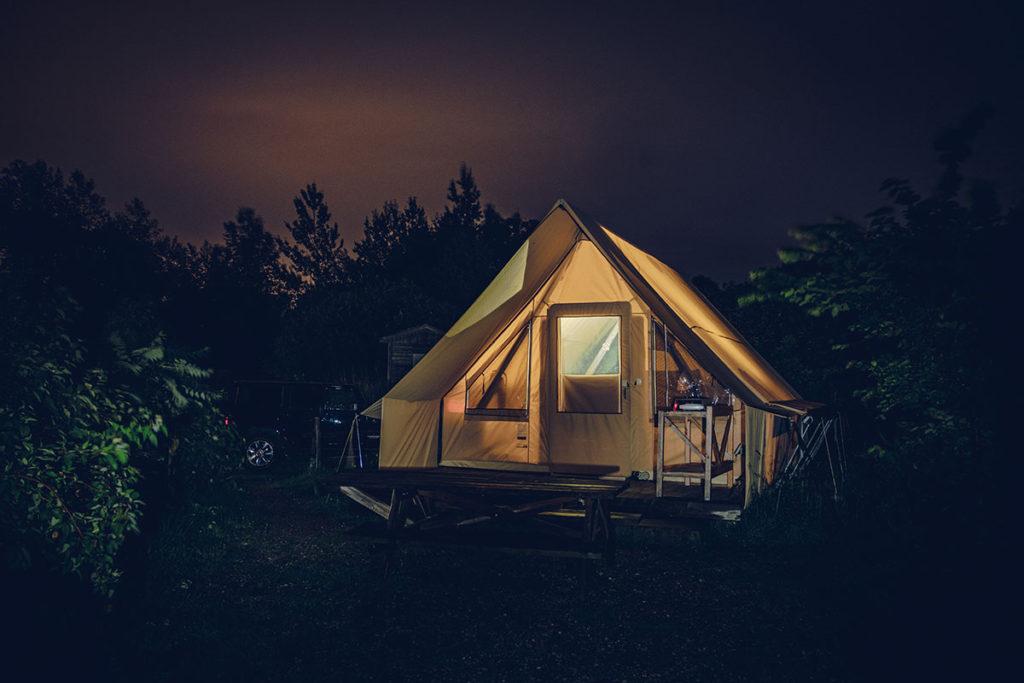 Refuse to hibernate Québec tente Huttopia