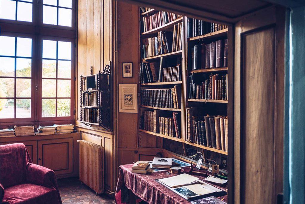 Eure-et-Loir Château de Villebon bibliothèque Refuse to hibernate