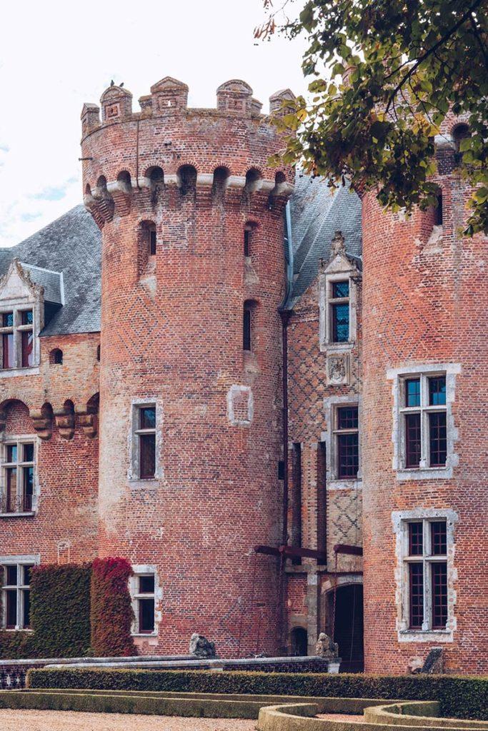 Eure-et-Loir Château de Villebon pont-levis Refuse to hibernate