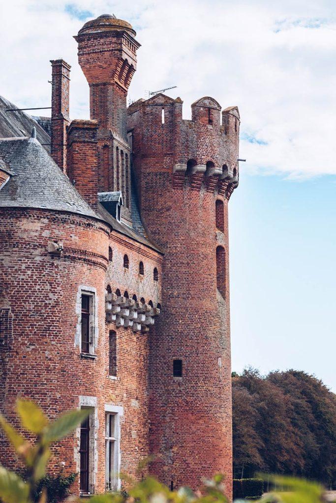 Eure-et-Loir Château de Villebon tour Refuse to hibernate
