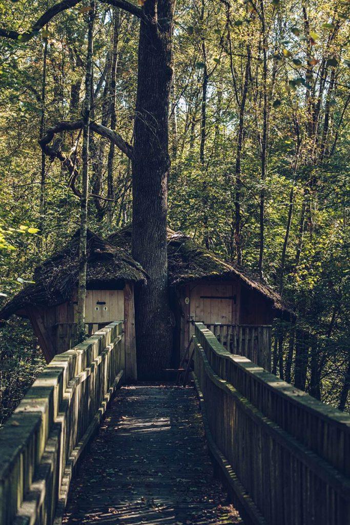 Eure-et-Loir domaine du Bois Landry cabane mobilité réduite Refuse to hibernate