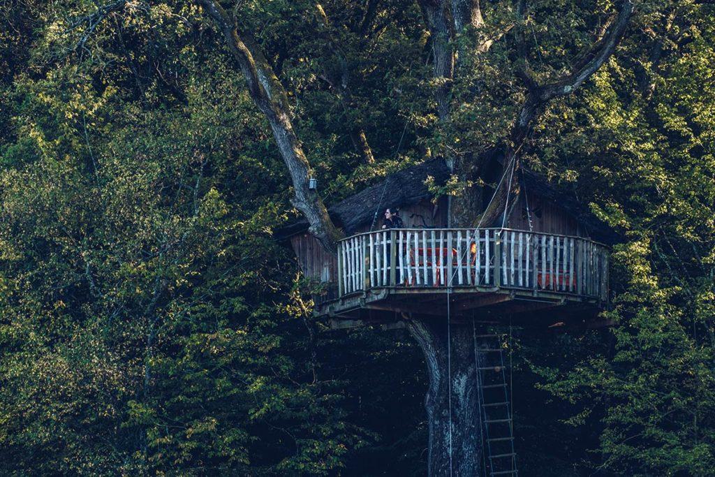 Eure-et-Loir domaine du Bois Landry cabane oiseaux Refuse to hibernate