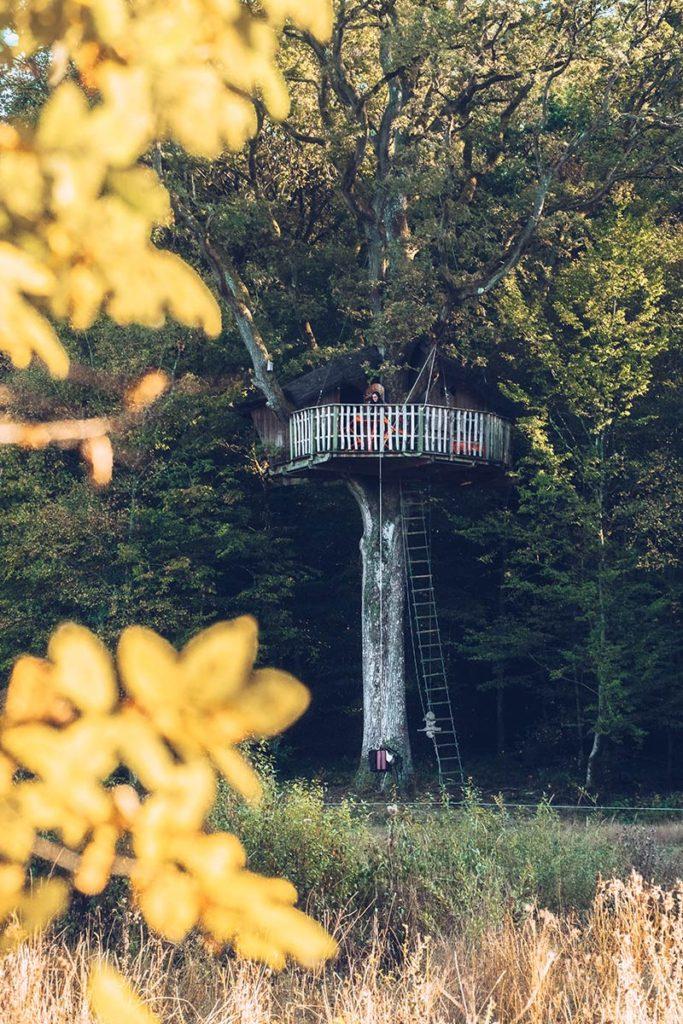 Eure-et-Loir domaine du Bois Landry cabane Refuse to hibernate