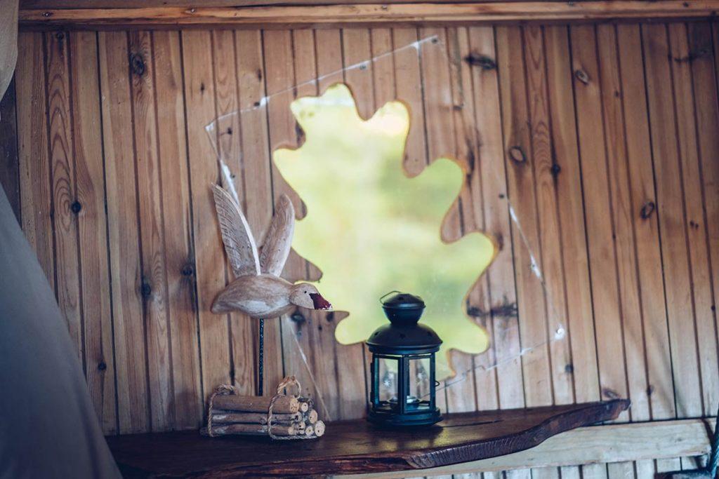 Eure-et-Loir domaine du Bois Landry déco cabane Refuse to hibernate