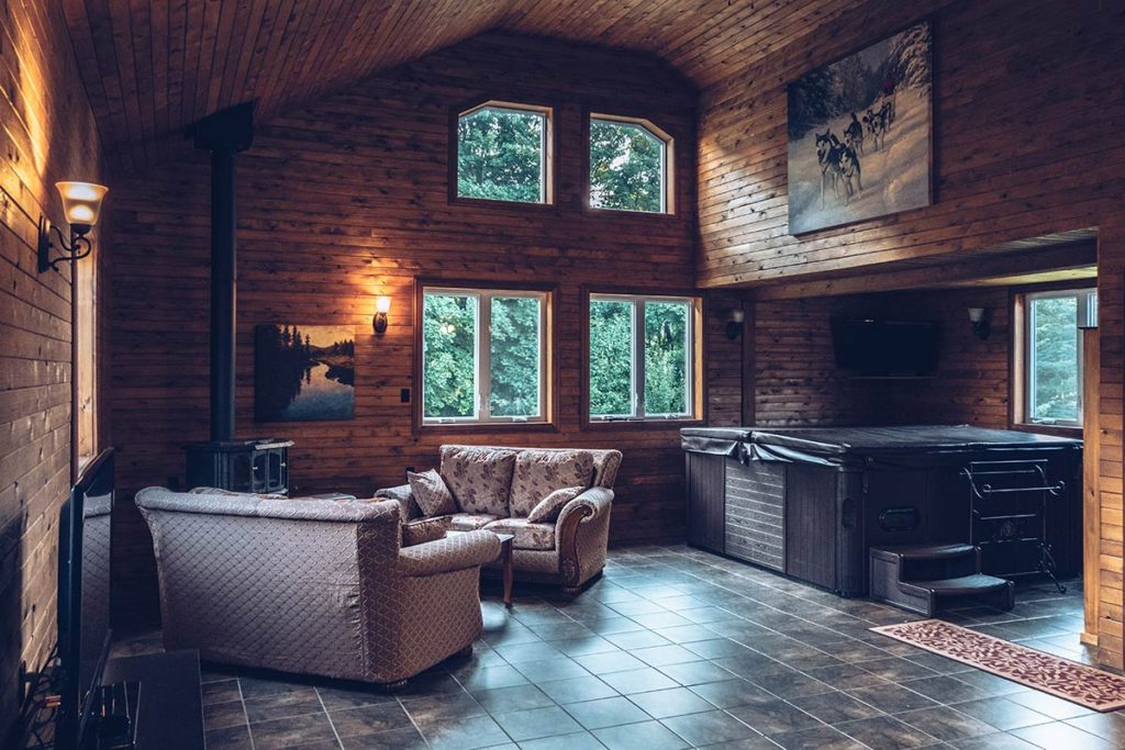 Refuse to hibernate Québec Escapade Eskimo spa