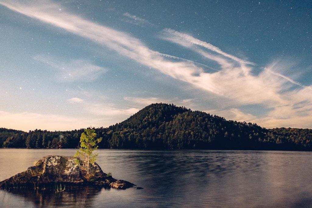 Refuse to hibernate Québec lac des 31 milles nuit étoilée
