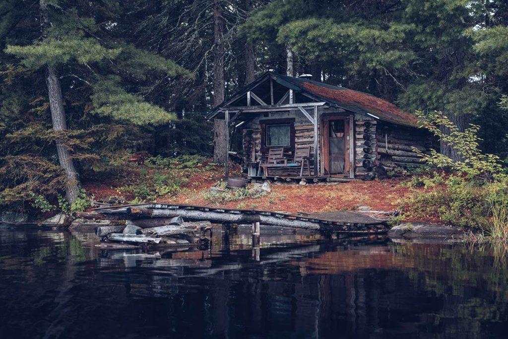 Refuse to hibernate Québec lac Kipawa chalet