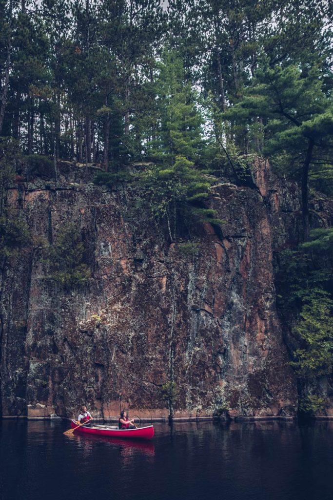 Refuse to hibernate Québec lac Kipawa en canoë Audrey Guillaume