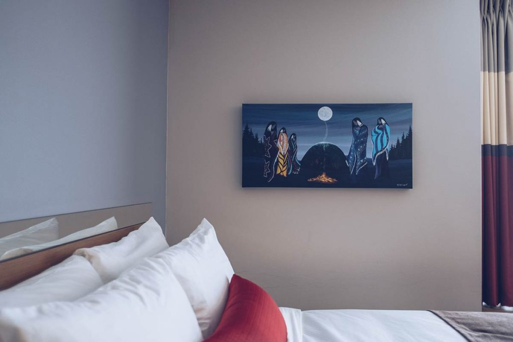 Refuse to hibernate Québec Microtel Inn & Suites tableau