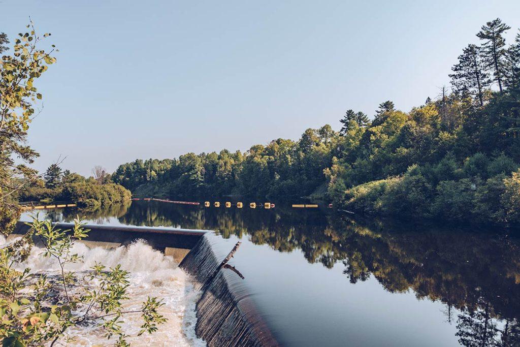 Refuse to hibernate Québec parc des Chutes Coulonge