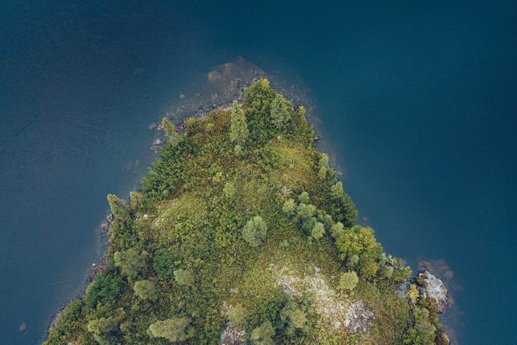 Refuse to hibernate Parc national Aiguebelle île