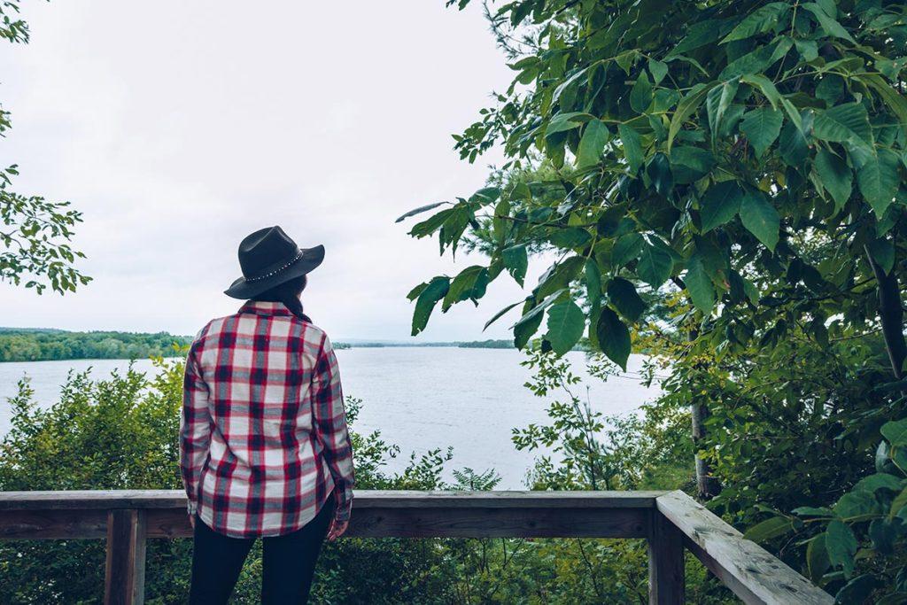 Refuse to hibernate Québec Parc national de Plaisance Presqu'île Est