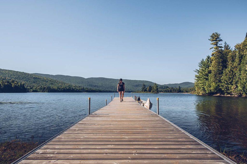 Refuse to hibernate Québec Parc National du Mont-Tremblant Audrey ponton