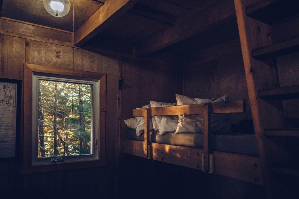 Refuse to hibernate Québec Refuges Perchés lits