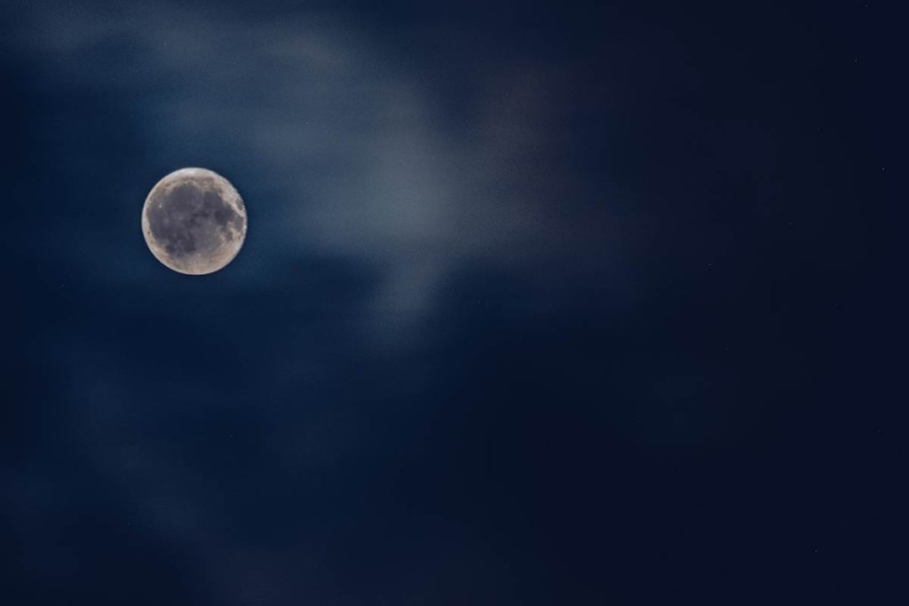 Refuse to hibernate Québec Refuse Pageau lune