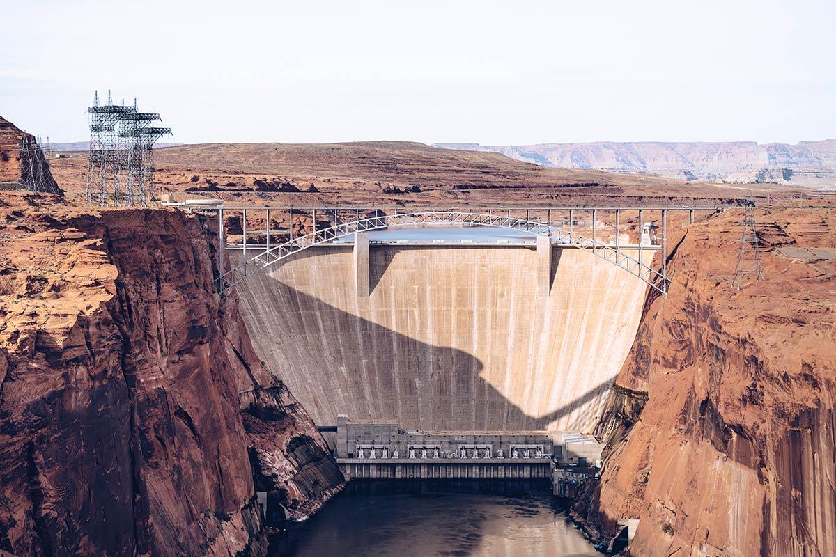 Antelope Canyon barrage du Glen Canyon gorge Refuse to hibernate