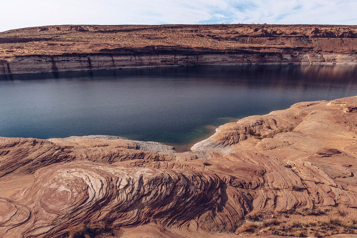 Antelope Canyon barrage du Glen Canyon Lac Powell Refuse to hibernate