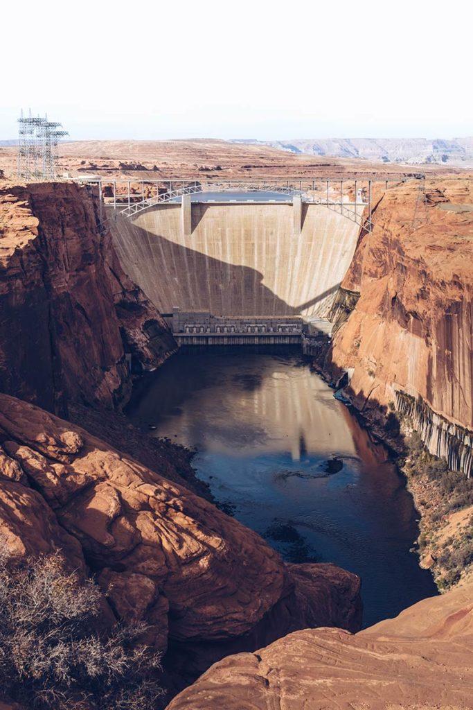Antelope Canyon barrage du Glen Canyon Refuse to hibernate