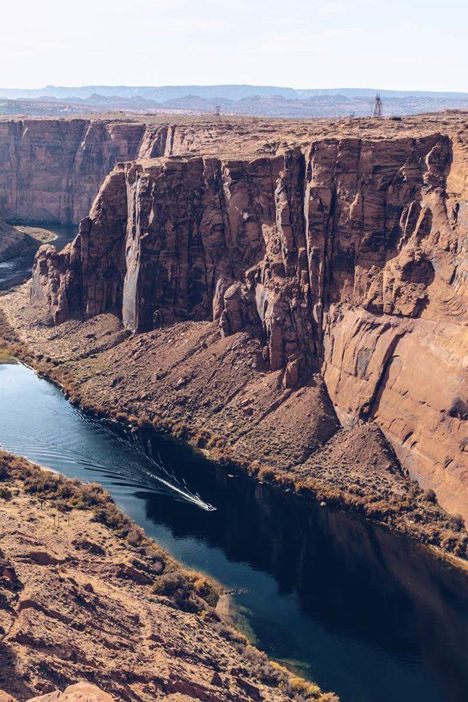 Antelope Canyon barrage du Glen Canyon rivière bateau Refuse to hibernate