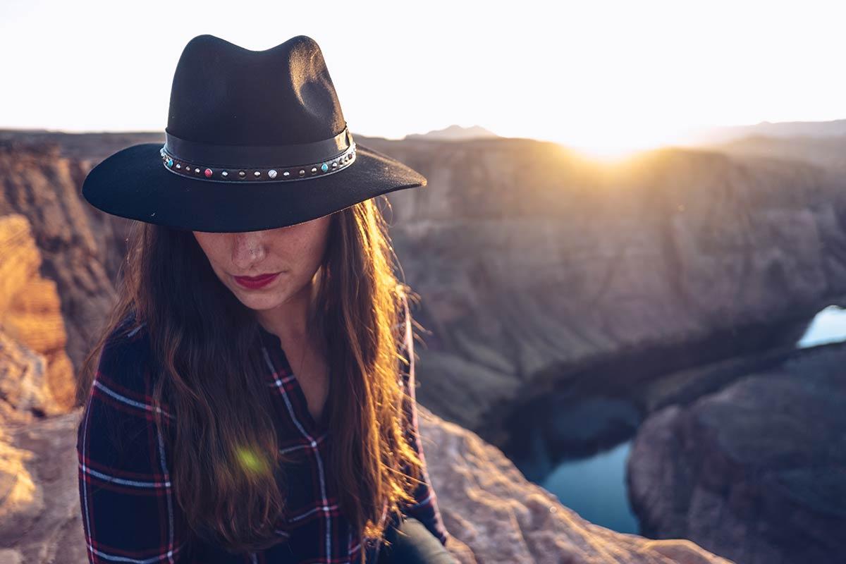 Antelope Canyon Horseshoe Bend Audrey coucher de soleil Refuse to hibernate