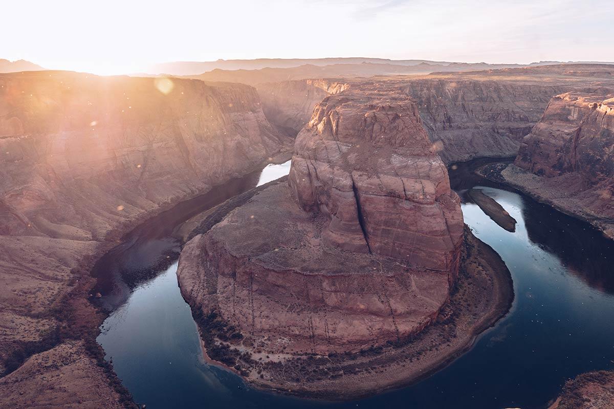 Antelope Canyon Horseshoe Bend heure dorée Refuse to hibernate États-Unis