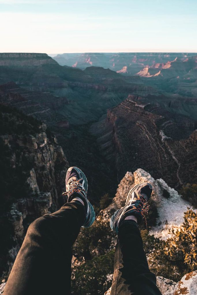 Grand Canyon Grandview Point Asics Refuse to hibernate