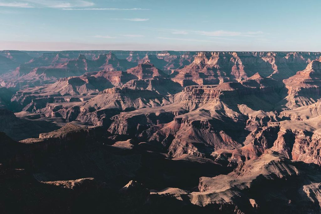 Grand Canyon Navajo Point Refuse to hibernate