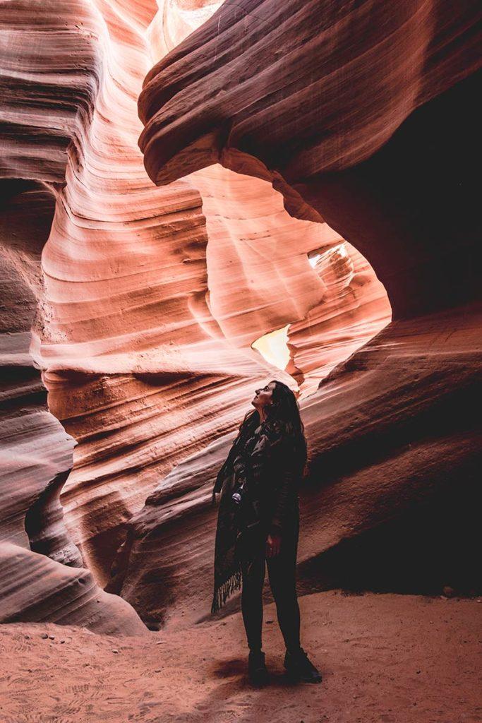 Lower Antelope Canyon Audrey Refuse to hibernate
