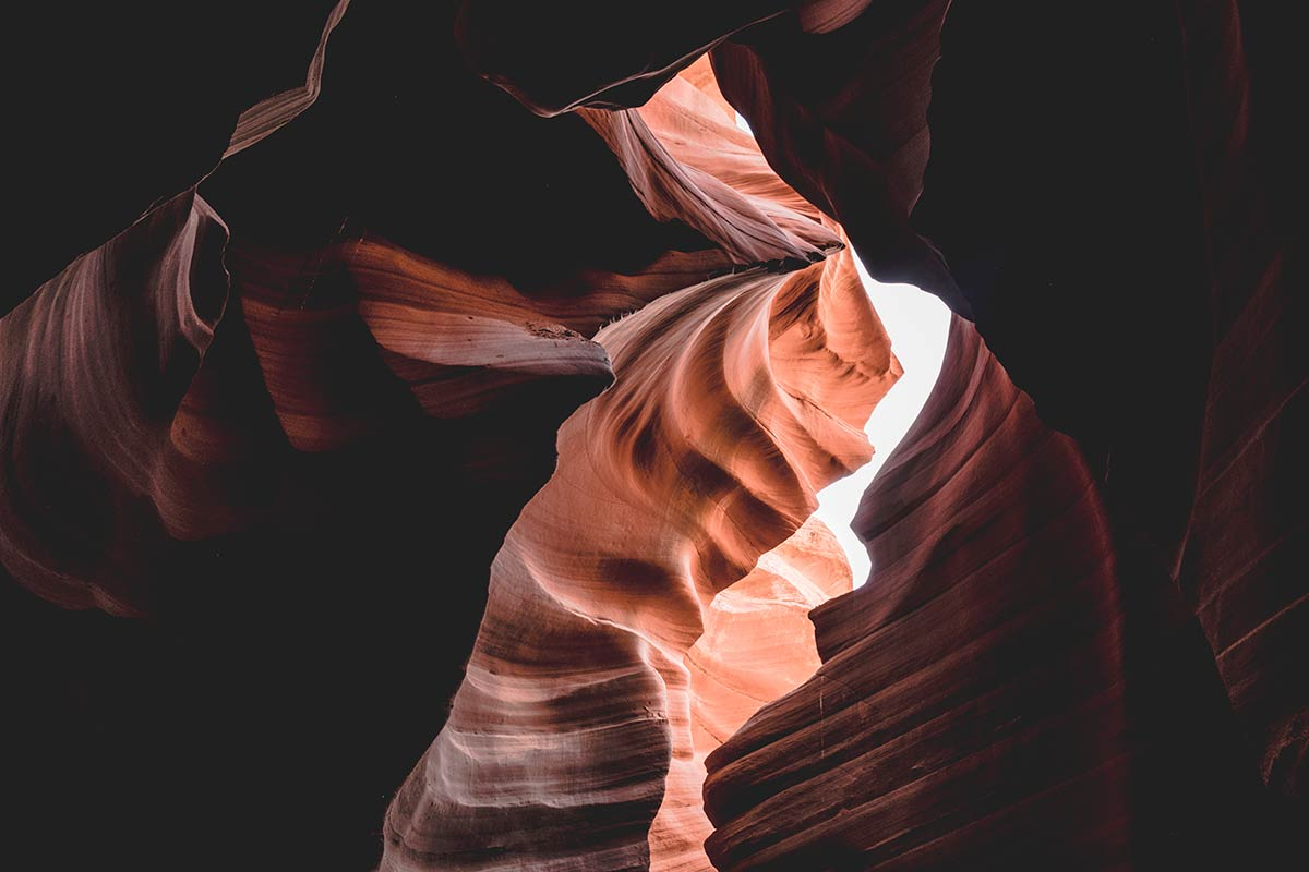 Lower Antelope Canyon Refuse to hibernate