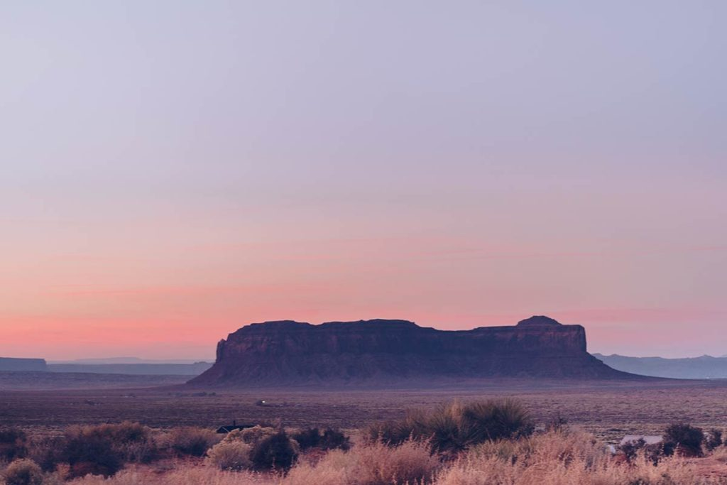 Monument Valley route 163 coucher de soleil Refuse to hibernate