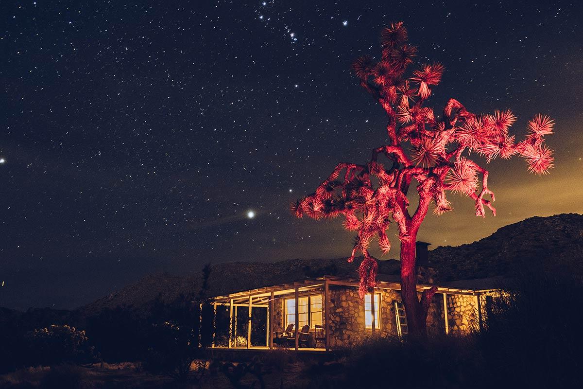 Pioneertown maison Airbnb de nuit Refuse to hibernate États-Unis