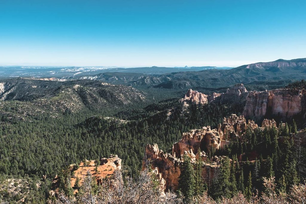 Utah Bryce Canyon Fairview point Refuse to hibernate