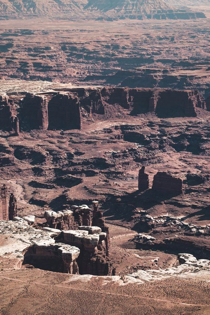 Utah Canyonlands National Park Grand view point overlook focus Refuse to hibernate