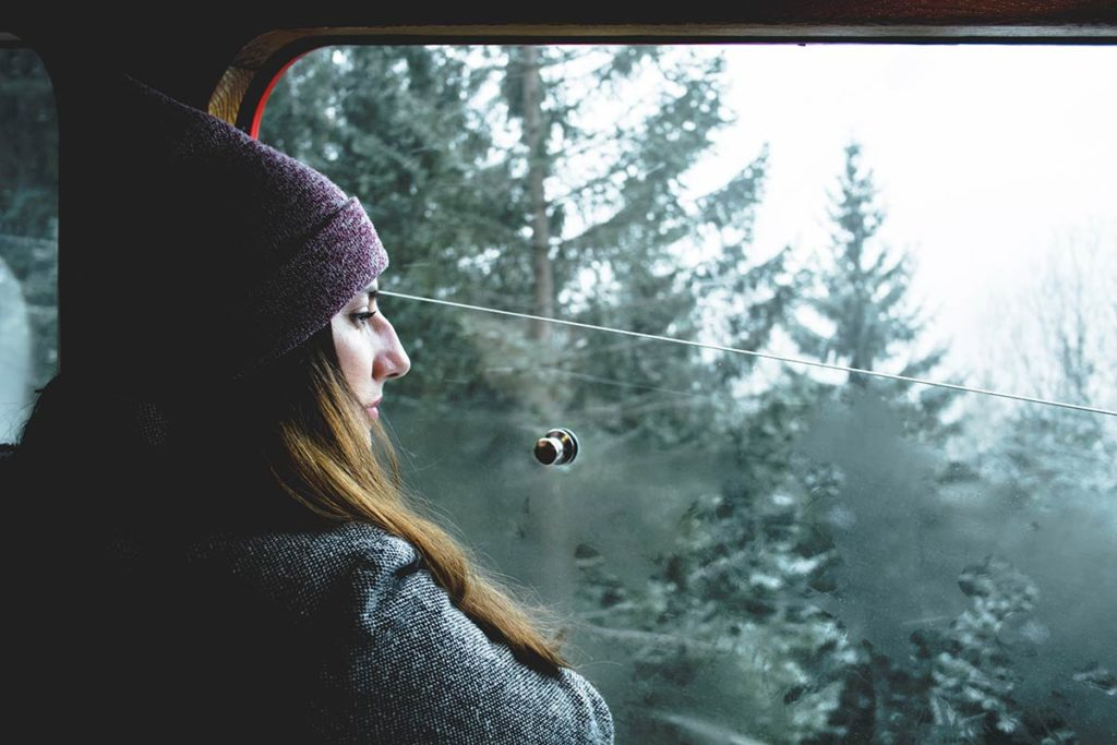 Chamonix Audrey Chemin de fer du Montenvers Refuse to hibernate