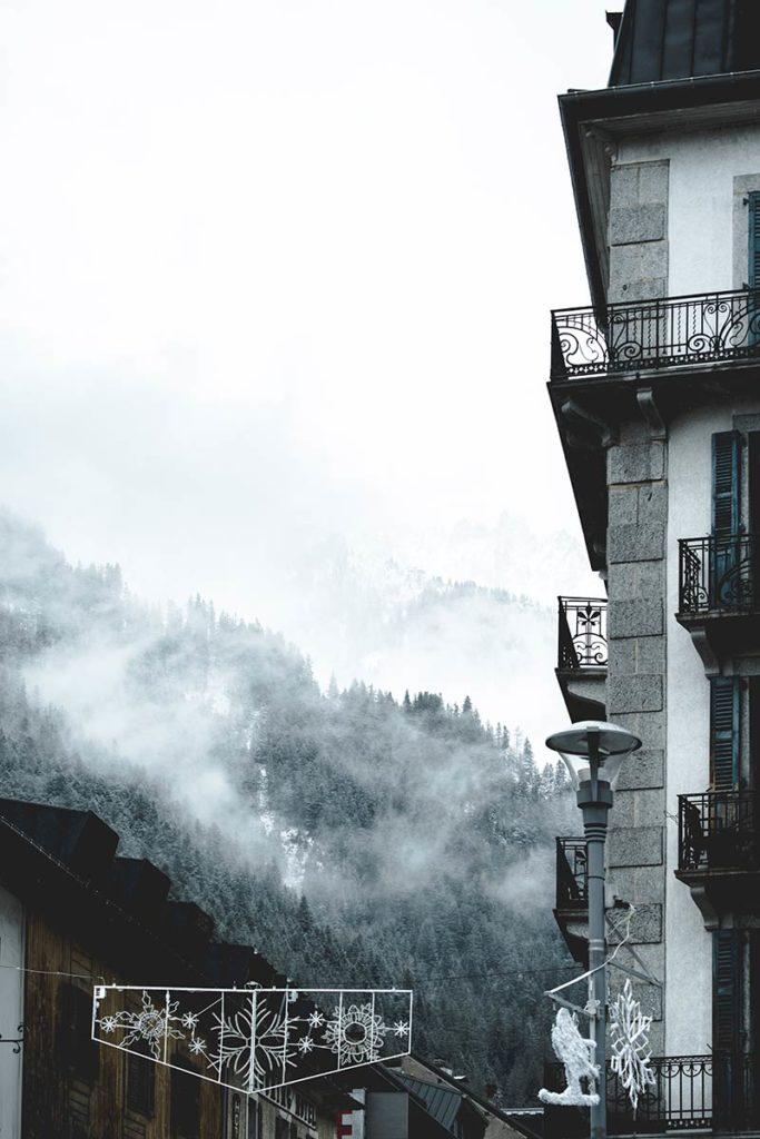 Chamonix centre-ville chambre avec vue Refuse to hibernate