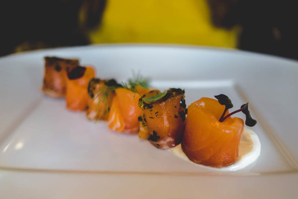 Chamonix Comptoir Nordique restaurant saumon focus Refuse to hibernate