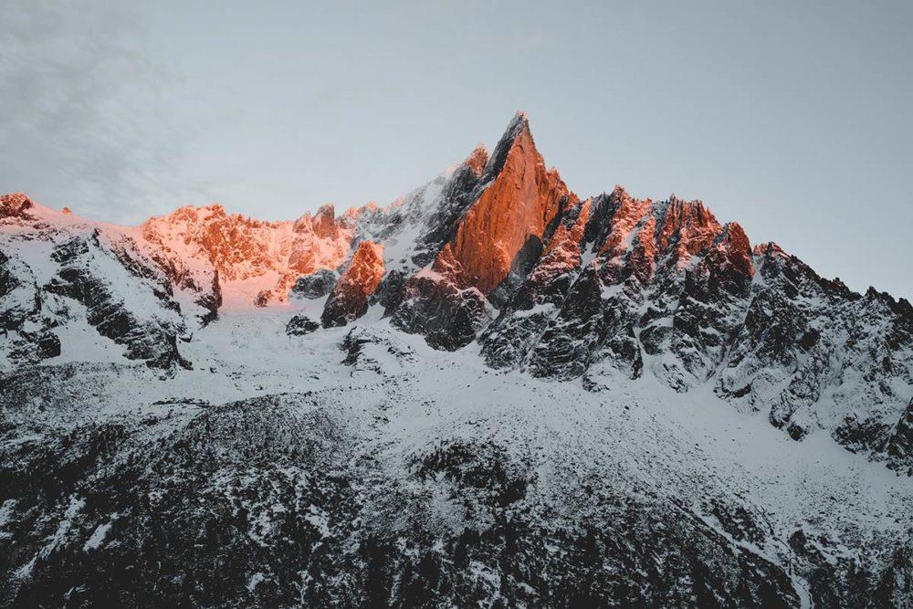 Chamonix montagne dorée Refuse to hibernate