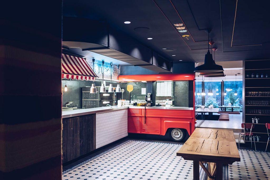 Chamonix RockyPop restaurant Refuse to hibernate