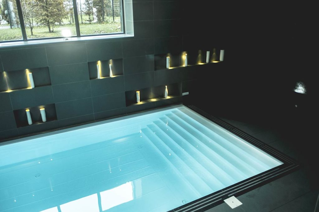 Chamonix Spa Nuxe piscine Refuse to hibernate