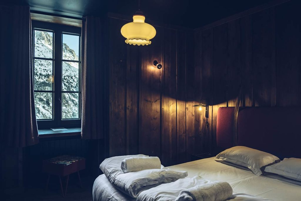 Chamonix Terminal Neige chambre des randonneurs Refuse to hibernate